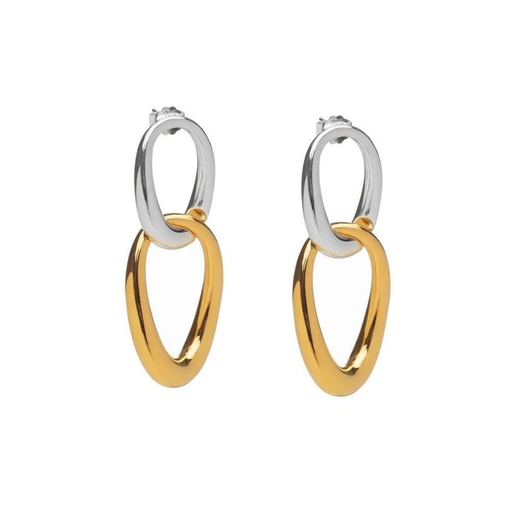 Tofa Earrings Silver/Gold