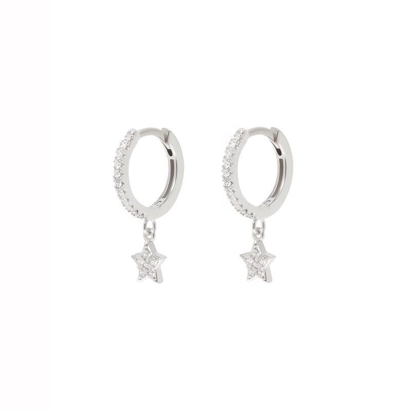 Chrystal Star Earrings