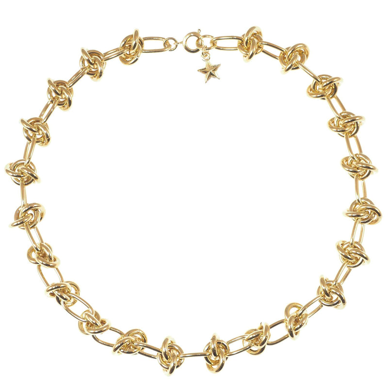 Gold Entrelacs Necklace