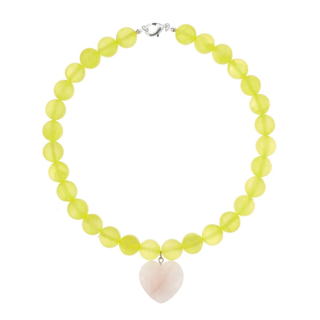 Yellow Love Necklace