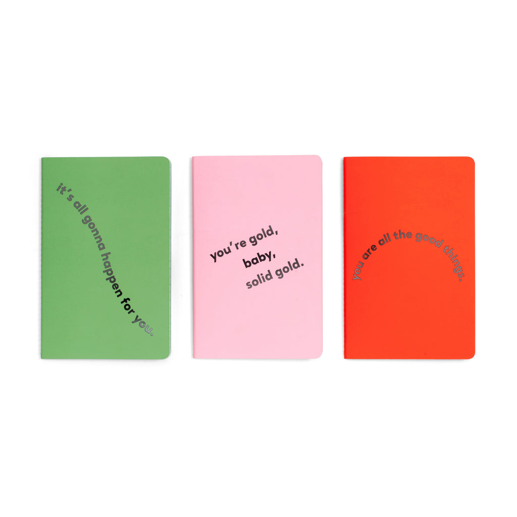 Set of 3 Notebooks - Compliments