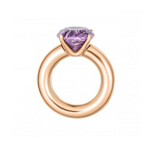 Cartoon Ring With Charoite