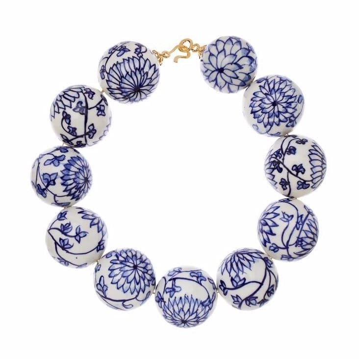 Blauw Necklace