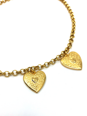 Rebel Heart Necklace