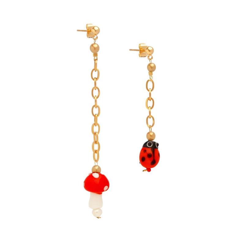 Mushroom Party Earrings