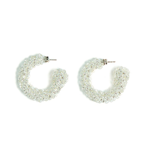 Crystal Evening Beaded Earrings
