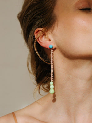 Long Drop Holiday Earrings