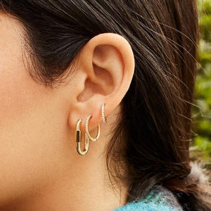 Utility Huggie Earrings