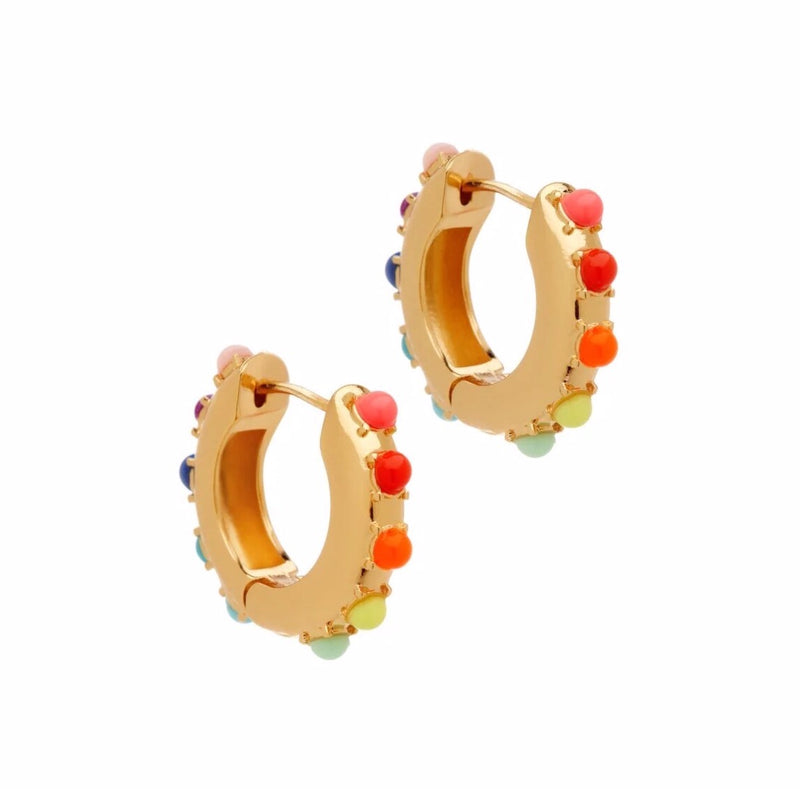Alaynah Huggie Hoop Earrings