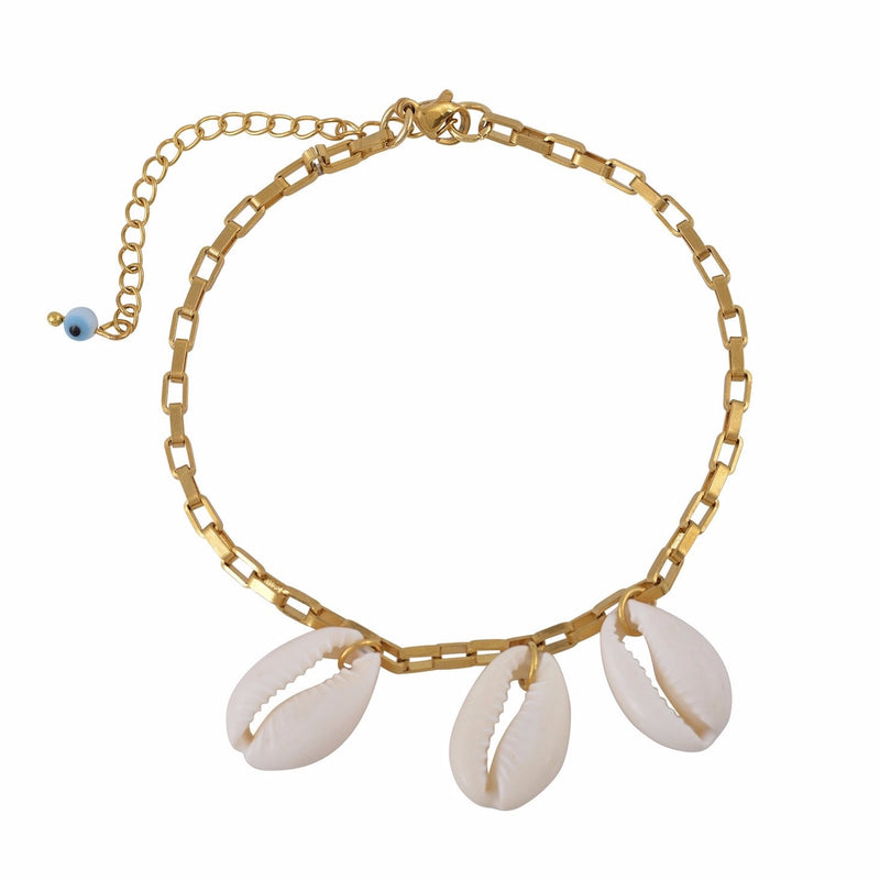 The Cowries Chain Anklet