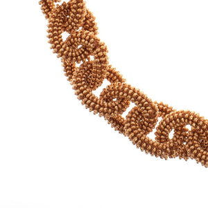 Golden Beads Chain Necklace