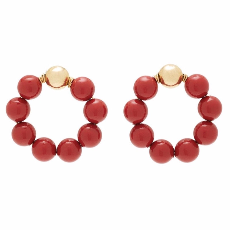 Crimson Earrings