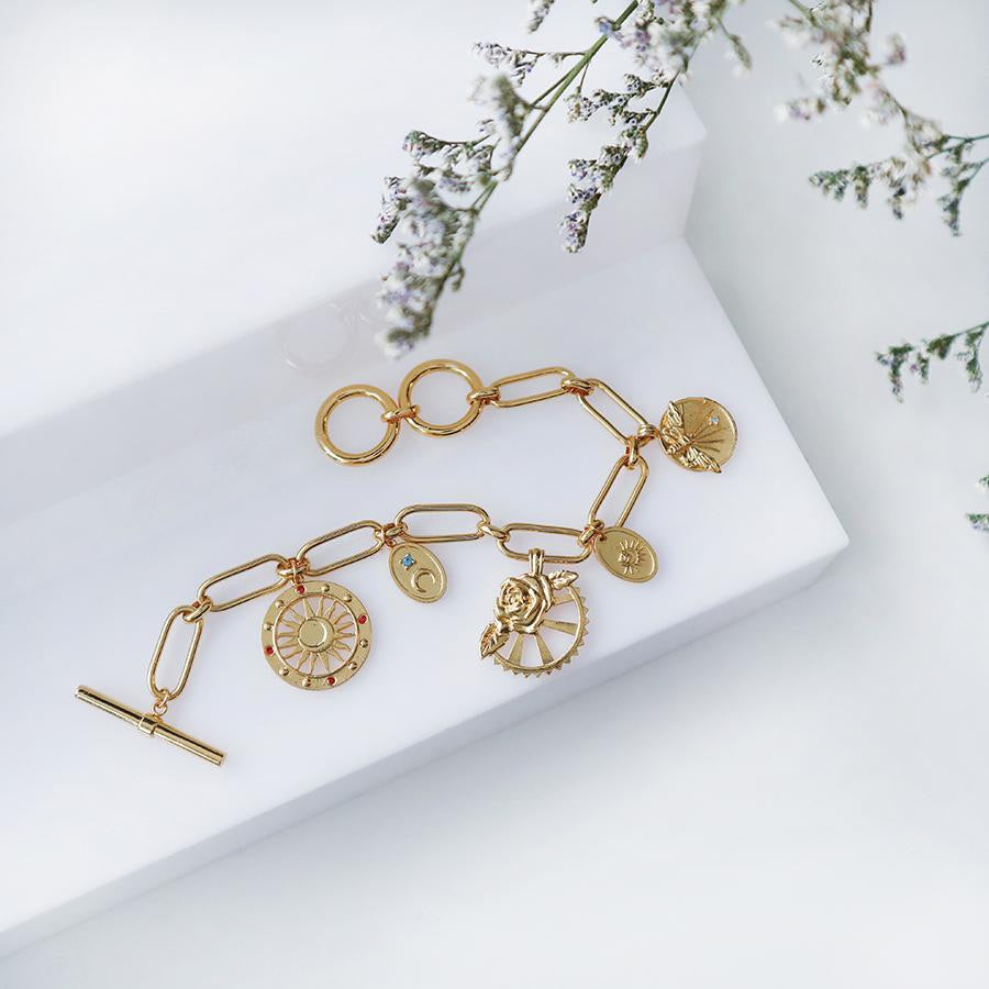 Reverie Gold Toggle Bracelet