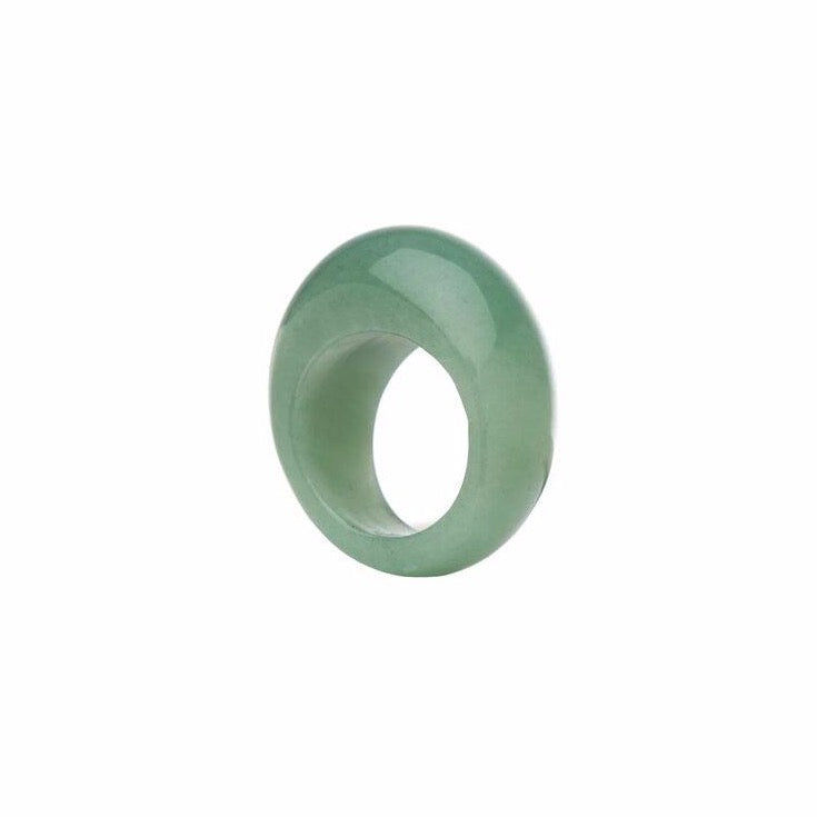 Jade Green Ring