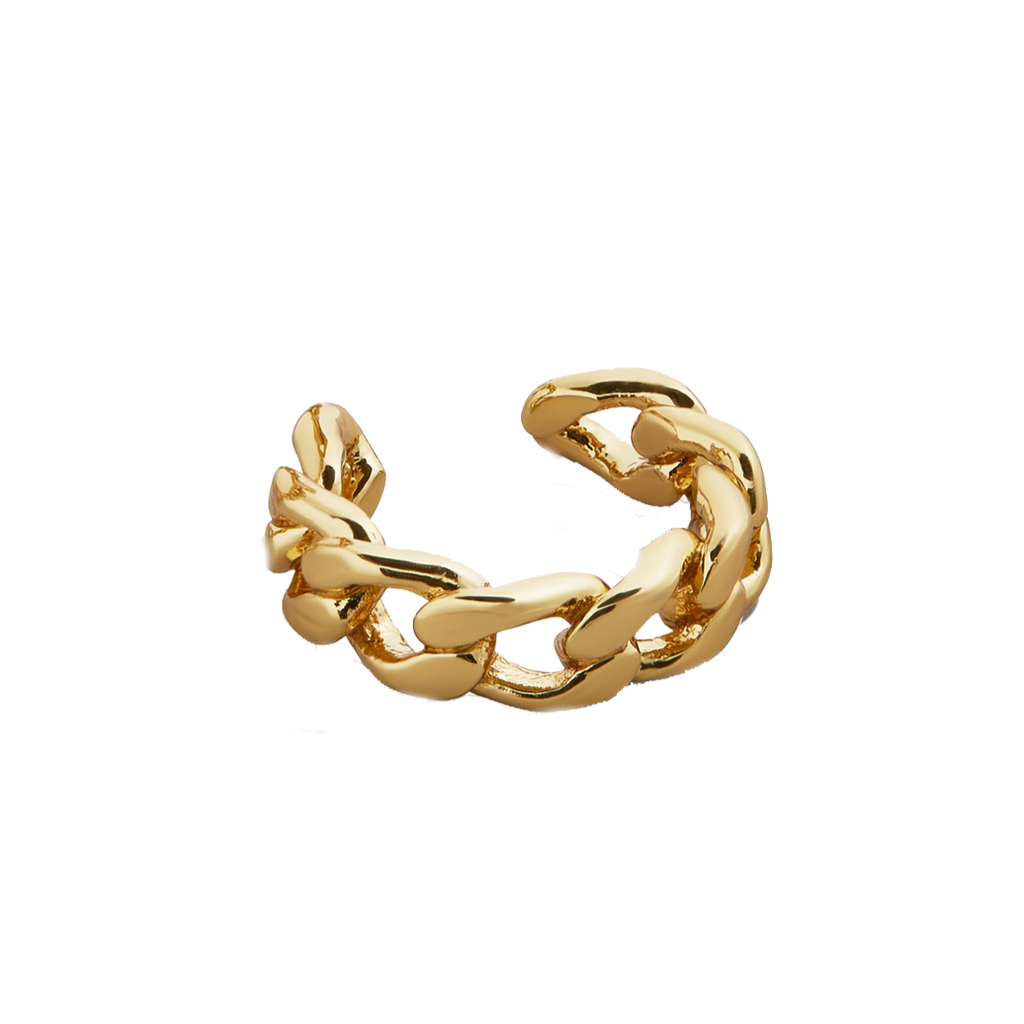 Small Michel Curb Chain Ear Cuff