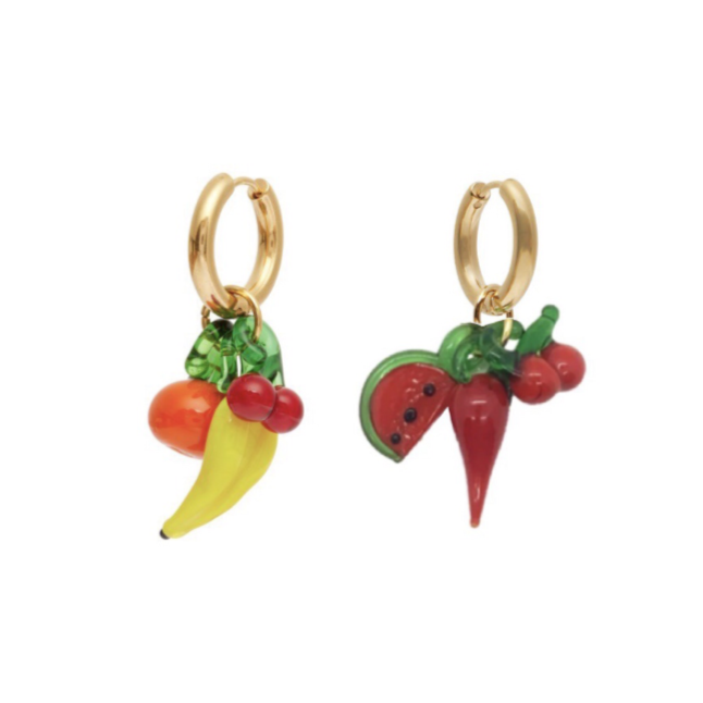 Triple Grocery I Earrings
