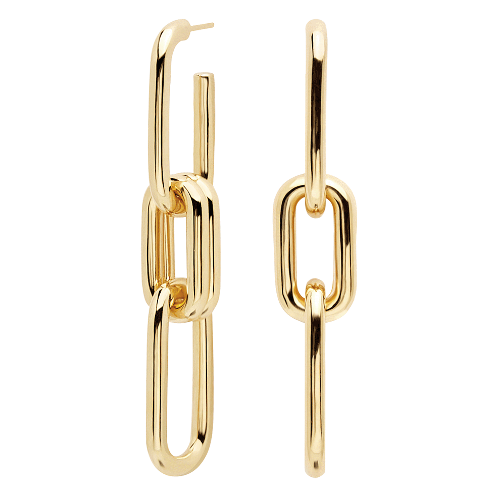 Muze Gold Earrings