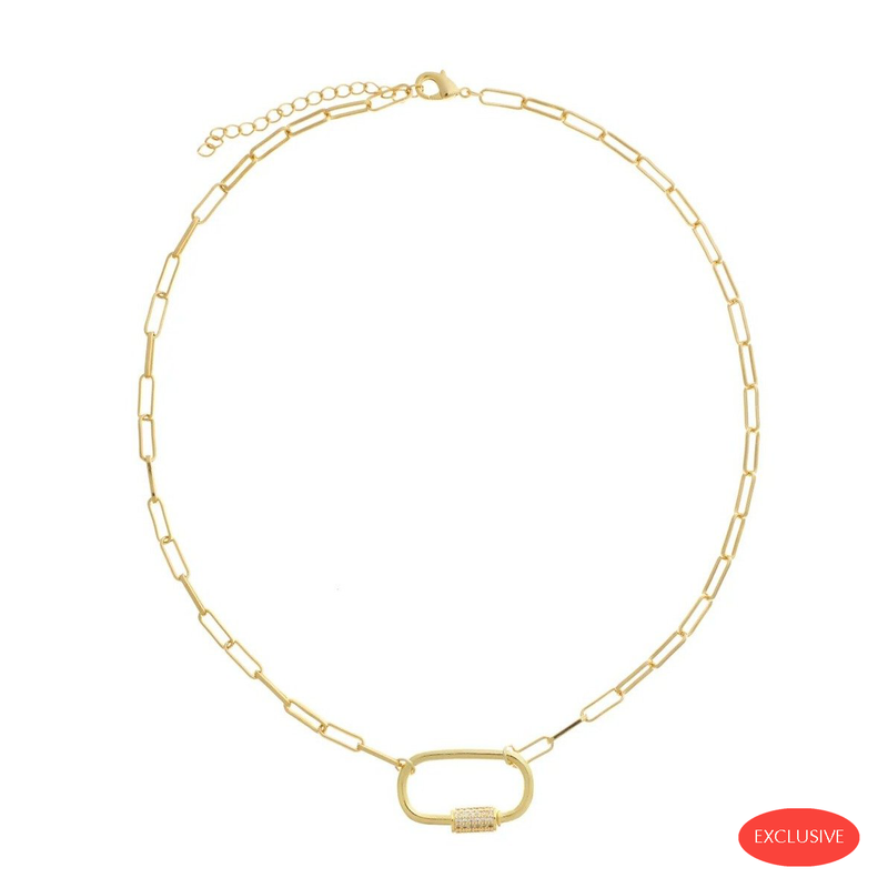 Carabine Gold Necklace