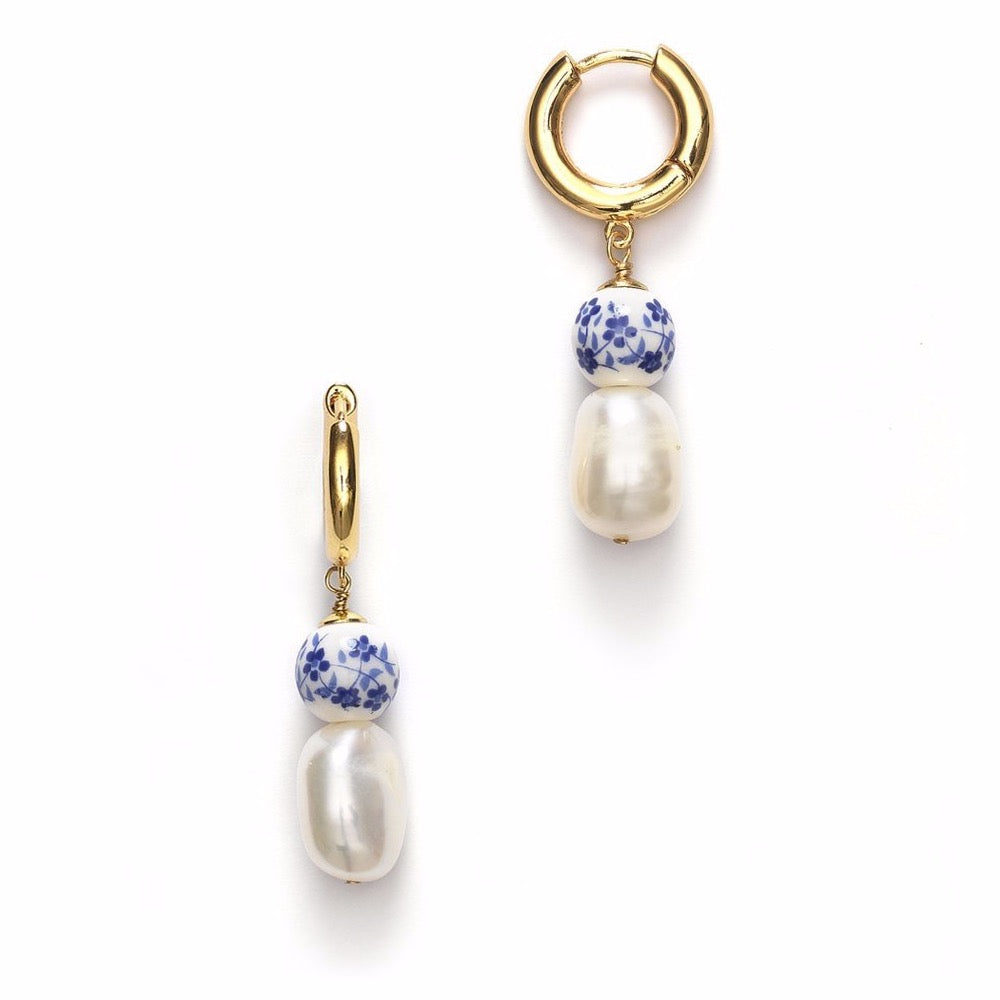 Heloise Earrings - Blue
