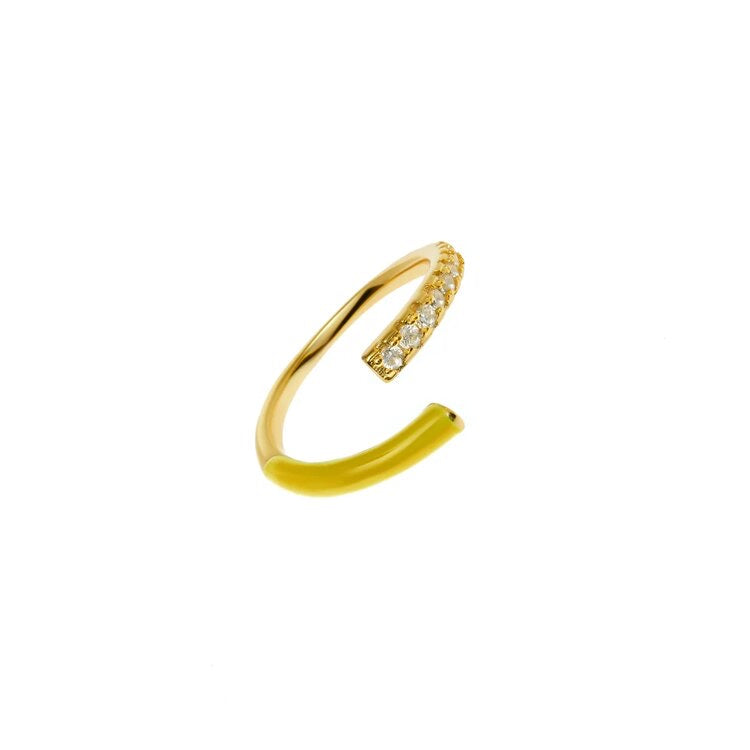 Evening Ring Dirty Yellow