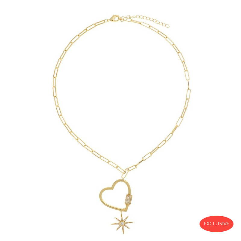 Love Carabine Gold Necklace