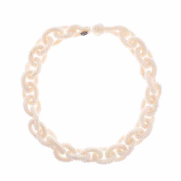 Pearl Beads Chain Necklace