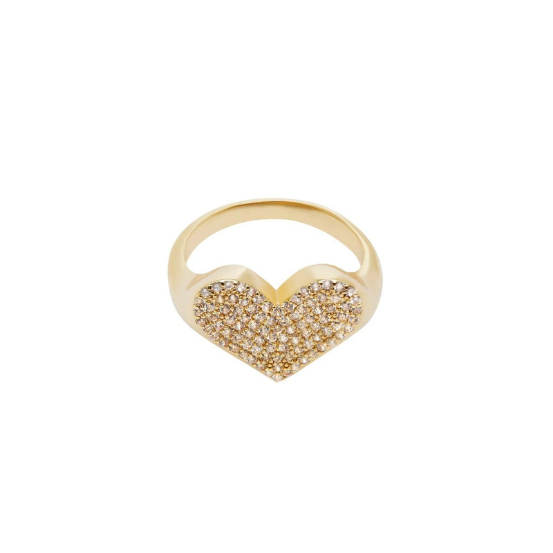 Love Crystal Ring