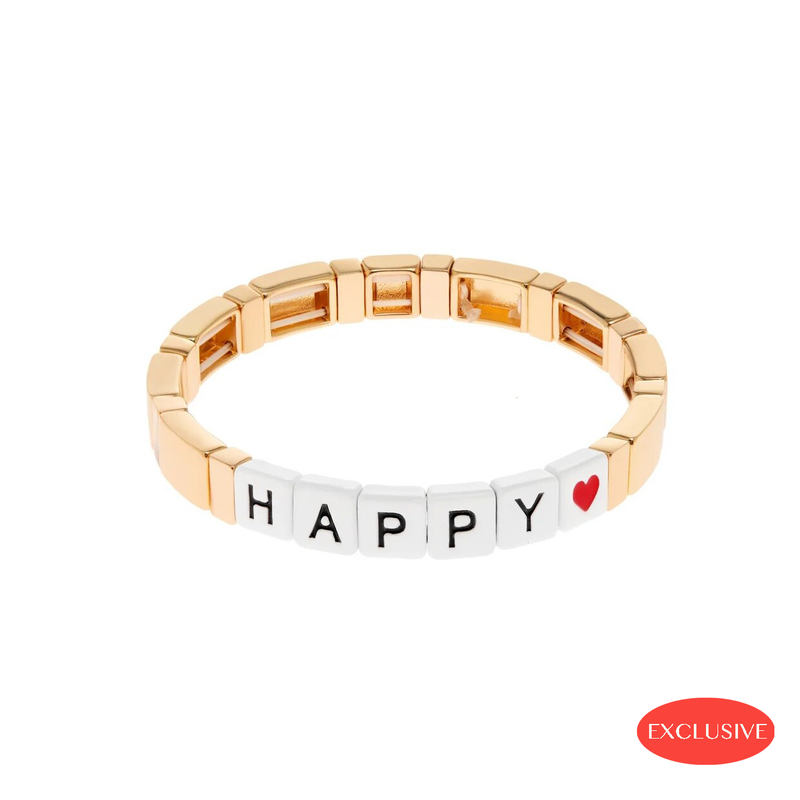 Happy Gold Bracelet