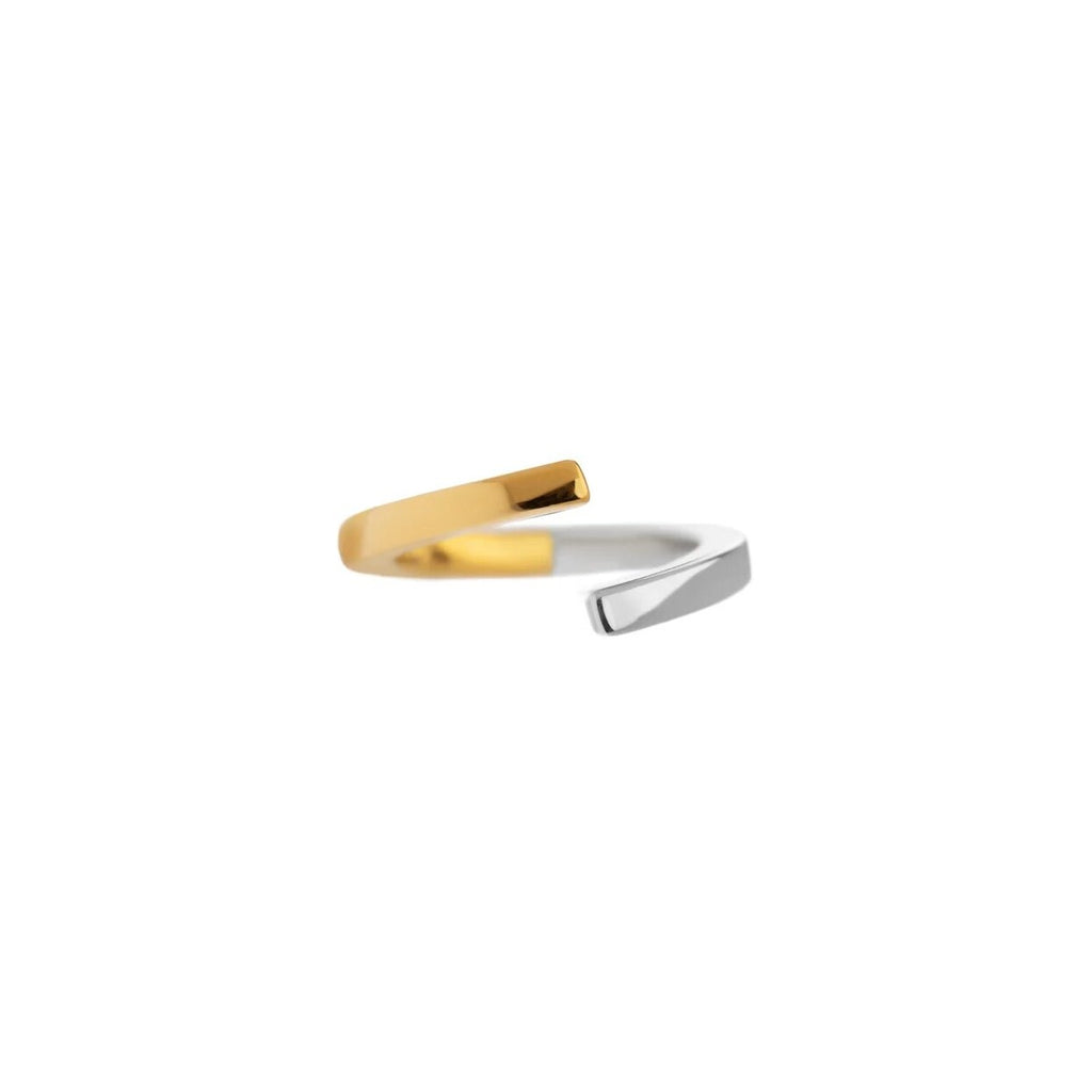 Nino Ring Silver/Gold