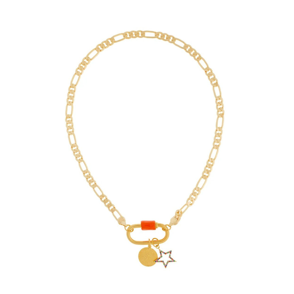 Wish Color Orange Necklace
