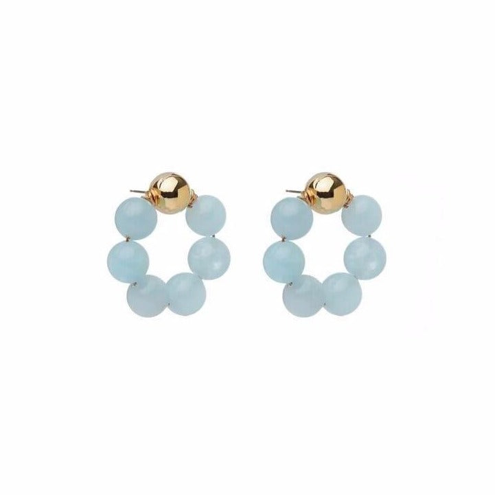 Aquamarine OG Earrings