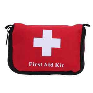 2017 NEW First Aid Kit Outdoor Wilderness Mini First Aid Pouch Medical Bag  Military First Aid kit Bag Survival Kit Hiking 14X9CM