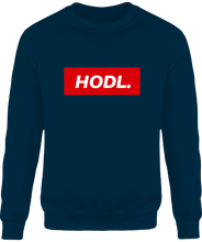 Sweat HODL. homme navy le cryptopolitain