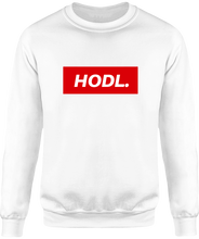 Sweat HODL. homme blanc le cryptopolitain