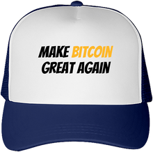 Casquette Bitcoin Make Bitcoin Great Again navy Le Cryptopolitain