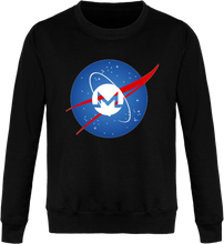 Pull Nasa Monero Noir Le Cryptopolitain