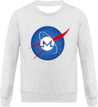 Pull Nasa Monero Gris Chiné Le Cryptopolitain