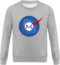 Pull Nasa Monero Gris Le Cryptopolitain