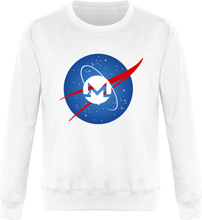 Pull Nasa Monero Blanc Le Cryptopolitain