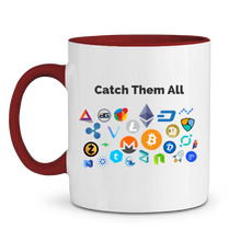 Mug Catch Them All Rouge Le Cryptopolitain