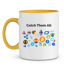 Mug Catch Them All Jaune Le Cryptopolitain