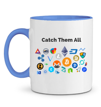Mug Catch Them All Bleu Le Cryptopolitain