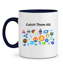 Mug Catch Them All Bleu Cobalt Le Cryptopolitain