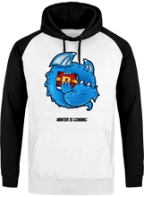 Sweat Dragonchain Winter is coming blanc & noir le cryptopolitain