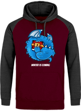Sweat Dragonchain Winter is coming burgundy le cryptopolitain