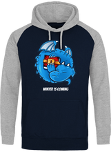 Sweat Dragonchain Winter is coming navy & gris le cryptopolitain