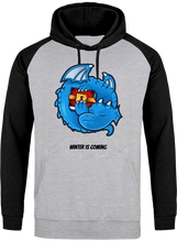 Sweat Dragonchain Winter is coming gris & noir le cryptopolitain