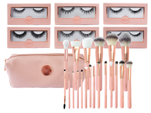 Load image into Gallery viewer, I WANT IT ALL! COMPLETE CLASSIC BRUSH SET WITH LASHES