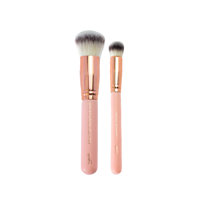 FOUNDATION & CONCEALER BRUSH DUO