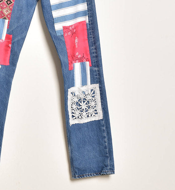 Patch the Levi's Jeans